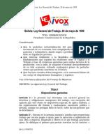 BO-L-19390524 (Ley General Del Trabajo)