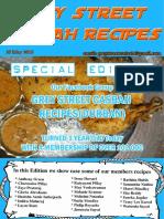 Grey Street Casbah Recipes - June 2016