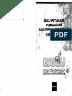 Buku Petunjuk Perawatan Panther 2.3
