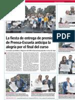 Fiesta de Entrega de Premios de Prensa-Escuela.LVE.08.06.2016