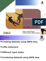 SAS Accessing Data