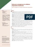 v2 Molusco Contagioso Em Criancas Tratamentos Comparativos