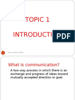 Topic 1 Introduction