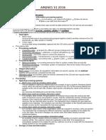 AIN2601 Exam Notes
