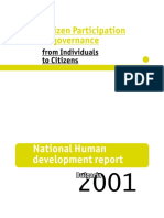 Citizen Participation in Governance - Bulgary