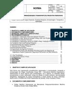 Movimentação e Transporte de Produtos Quimicos