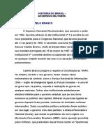 HISTÓRIA DO BRASIL - Governo Militares