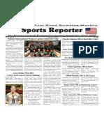 June 8 - 14, 2016  Sports Reporter