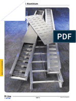 Bandejas Portacables Aluminio Acero B Line