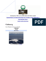 Gulmarg Info