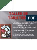 TALLER DE TARJETERÍA
