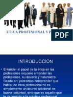 Etica Profesional y Personal