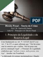 Direito Penal I - Aula 2 - Princípios do Direito Penal