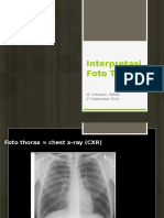 Interpretasi Foto Thorax