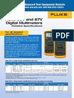 Fluke 87V Specs