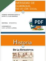 HISTORIA- ESTADISTICA
