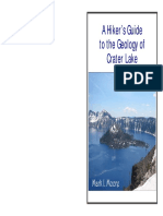 Hikers Guide Geology Crater Lake