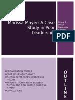 Marissa Mayer Poor Leader OB Group 2-2
