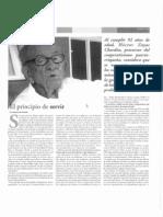 El principio de servir.... D. Héctor Zayas