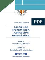 Líneas de Transmisión. Aplicación Aeronáutica