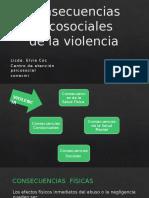 Consecuencias Psicosociales de La Violencia