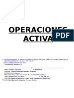 Operaciones Activas Ejm