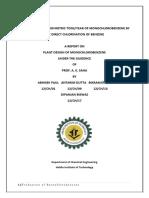 Cholorobenzene Production