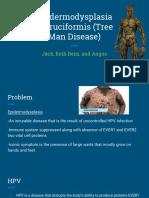 epidermodysplasia verrucformis