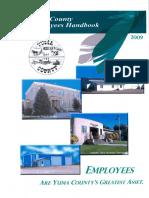 Yuma County Employee Handbook 2016