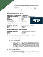 Informe Nº Por Faltas 2016.