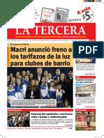 Diario La Tercera 07.06.2016