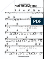Sarah Connor Living to Love You PVG sheet music