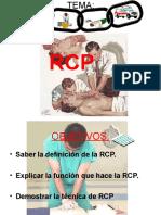 RCP y Obstruccion de Vias Aereas