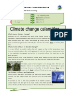 Climate Change Calamities