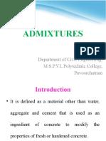 Admixture Function