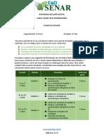 Plano de Estudos - Curso Word 2010 Intermediário (1)