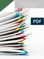 Provas Selecionadas Direito Administrativo ESAF 2013 a 2014