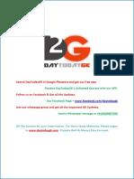 Current Affairs April 2016 PDF DayTodayGK