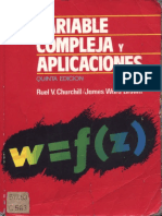 Churchill - Variable Compleja y Aplicaciones