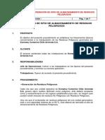 Anexo 1 PMRP_Operación Sitio de Almacenamiento de Residuos
