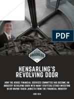 Hensarling's Revolving Door