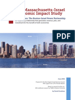 2016 MA-Israel Economic Impact Study, Final