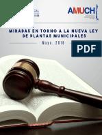 Una mirada  a la Ley Nº 20.922 de Municipalidades