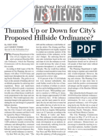 Baseline Hillside Ordinance Article