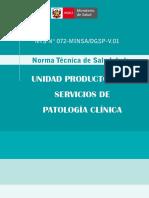 NTS Servicio de Patología Clinica[1]