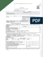 Formular de Înscriere În Registrul Unic de Identificare
