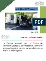 Norma de Emergencia - Evaluación Vehicular - PROFEPA