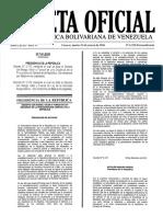 Gaceta Oficial Extraordinaria 6220 Ley de La Actividad Aseguradora 15-03-16