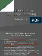 communicative language teaching  3