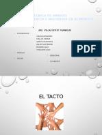 2.1 EL TACTO
